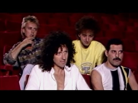 Queen-Interview Before Live Aid 1985! HD