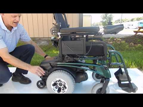 Quickie P222 SE Fast Power Chair