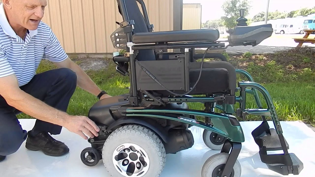 Quickie P222 Se Fast Power Chair Youtube