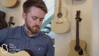 Avian Songbird Mahogany Standard Cutaway Fan Fret Acoustic Guitar, Pierced Headstock