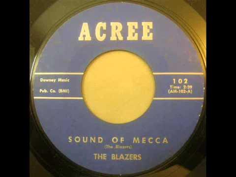 Blazers - Sound of Mecca - Acree 102 B 45 rpm rare surf