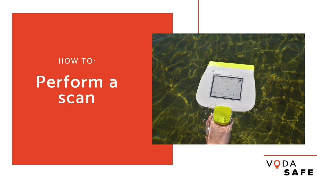 How to perform a scan with the AquaEye