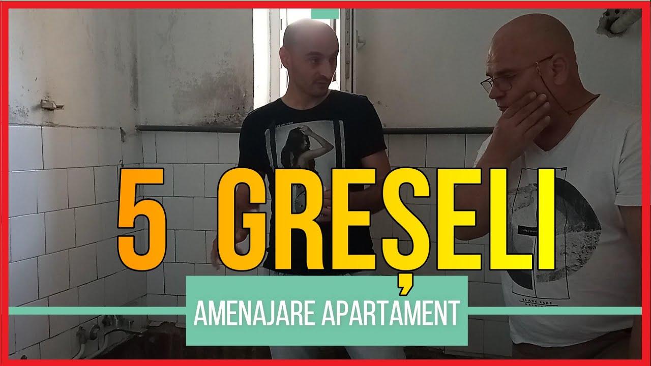 Download 5 GRESELI de evitat la renovarea unui apartament