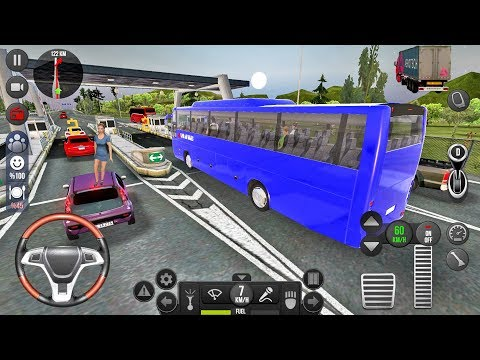 Bus Simulator Ultimate #7 Let's go to Frankfurt! Android gameplay