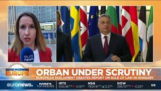 Viktor Orban under scrutiny: EU Parliamnet debates Sargentini report on rule of law in Hungary
