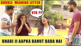 BHOJPURI GUY'S Double Meaning Letter to Desi GF | Holi Special PRANK Ft. High Street Junkies #tb