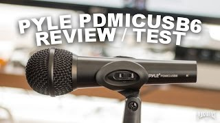 Pyle PDMICUSB6 USB Microphone …