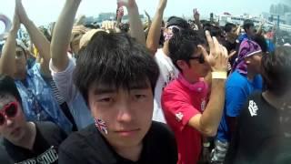 初めてStereo Fukuokaで旗を上げました。 そしてこの会場の柵を初めて破...