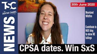 CPSA Dates, Dossier Against NE, Win A Sxs, Wildfire, Eco Cartridges