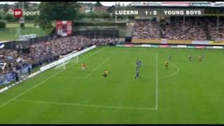 Luzern - Young Boys 1:2 16.08.09