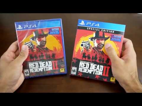 Unboxing - Red Dead Redemption 2 Special Edition VS Standard