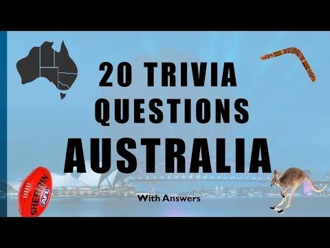 20 Trivia Questions (Australia) No. 1