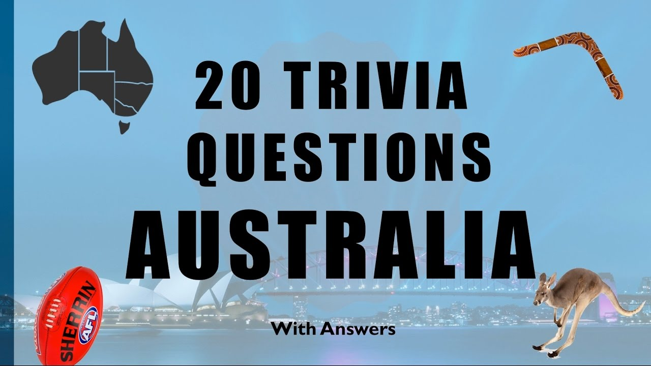 Dating 20 questions in Australia