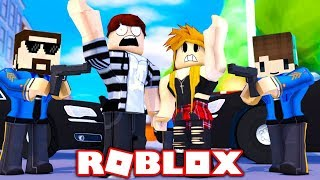 THE PRESIDENT OF THE POLICE IN ROBLOX!!!