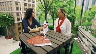 Интервью с  РГ-Девелопмент. 37-я выставка ''Недвижимость от лидеров'' в ЦДХ