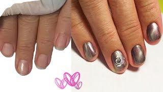 💖 ПРЕОБРАЖЕНИЕ 💖 работа с КОРОТЫШКАМИ 💖 PATRISA NAIL 💖 Дизайн ногтей гель лаком 💖
