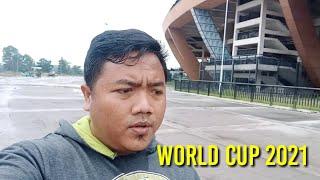 JOGING DI STADION UTAMA RIAU