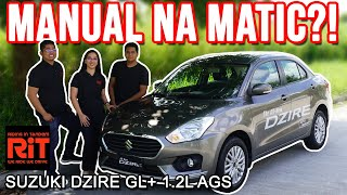 2019 Suzuki Dzire AGS Review : Budget Car Philippines : Manual na Automatic transmission
