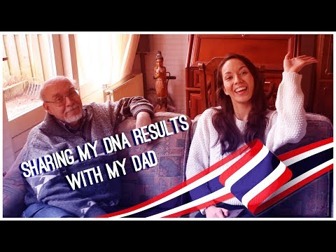 Sharing my 23andme DNA results with my Dad - Dutch-Thai