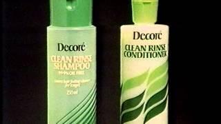 Decore Clean Rise Shampoo and Conditioner (1982)