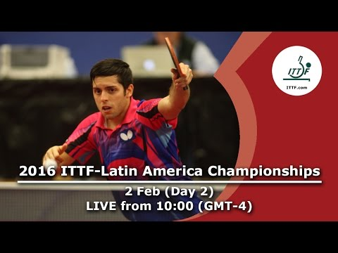 2016 ITTF-Latin American Championships - Day 2
