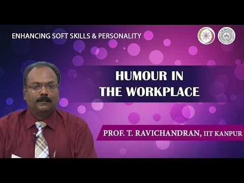 Lecture 27: Humour in Workplace
