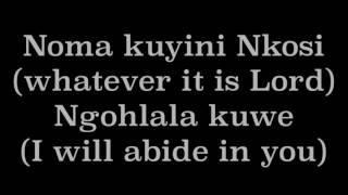 njalo by mthetho mbatha