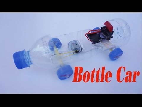 How To Make Powered Car Use Bottle And Dc Motor Electric