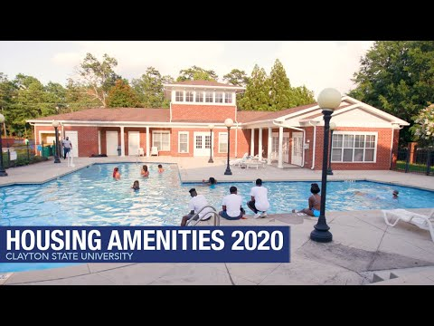 Clayton State University - Housing Amenities [2020]