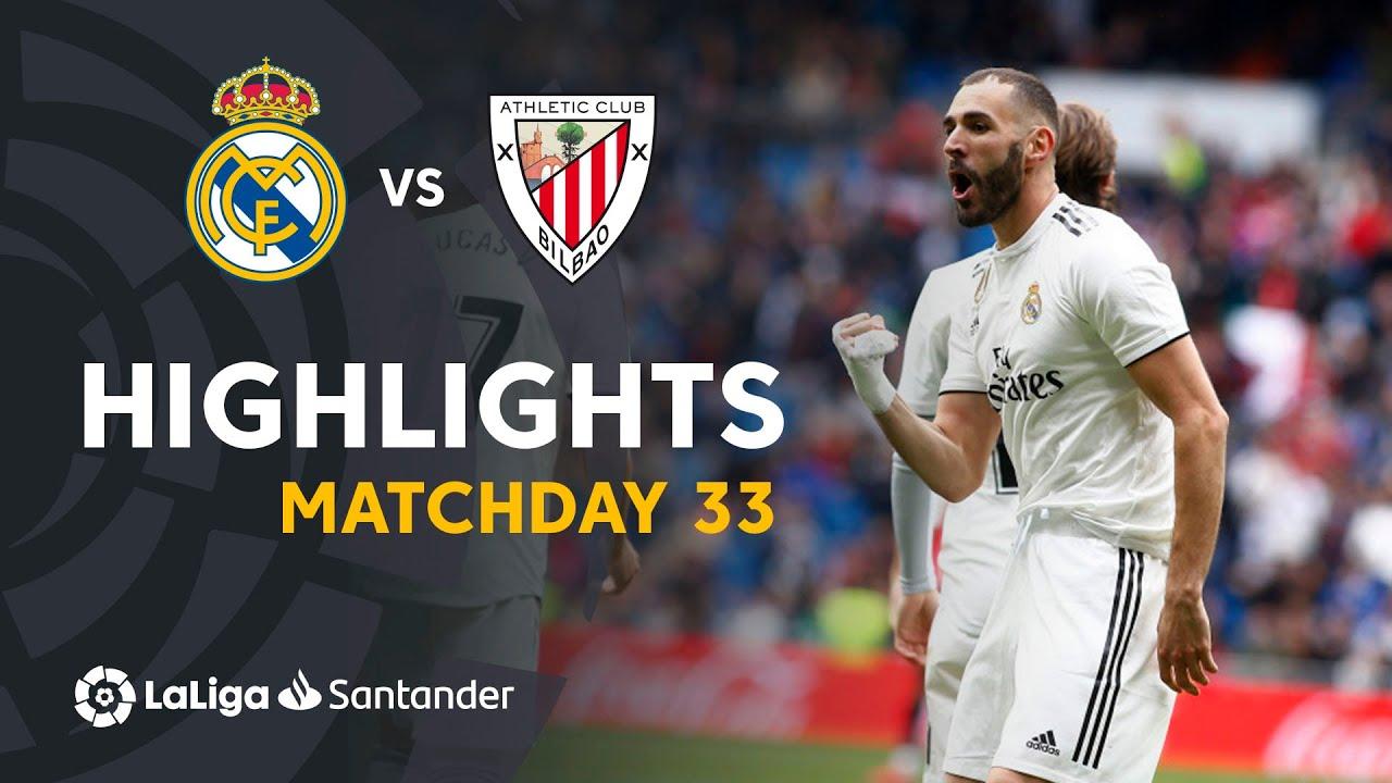 85aea04ee06 Highlights Real Madrid vs Athletic Club (3-0) - YouTube