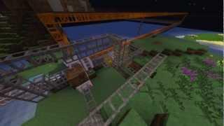 The Super Quarry - Tekkit Time Lapse (HD)
