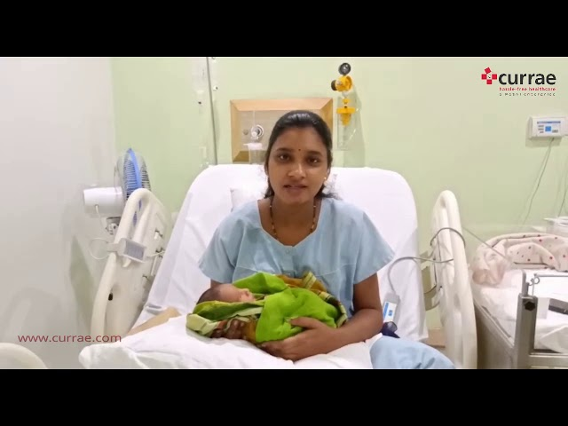Pt. Rupali - Nursed By Dr. Sangeeta Shetty | Gynaecologist & Obstetrician | Currae Hospitals