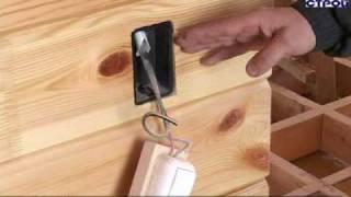 Строительство домов из клееного профилированного бруса(Строительство домов из клееного профилированного бруса. Деморолик компании