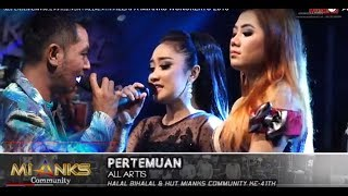 Download PERTEMUAN lagu duet tergalau GERRY Ft. ALL ARTIS PERTEMUAN - NEW PALLAPA - MIANKS WONOKERTO
