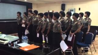 Polwan Polrestabes Makassar