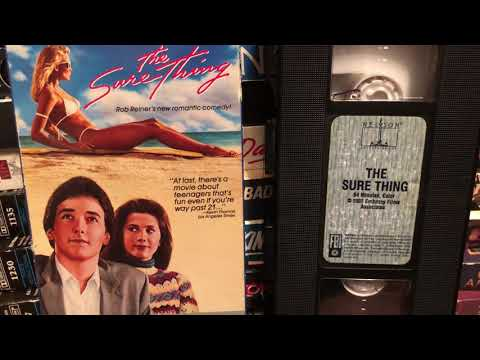 "Movie:  ""The Sure Thing"" 1985 John Cusack Daphne Zuniga 1980s 80sThen80sNow"
