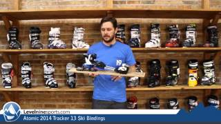 Atomic 2014 Tracker 13 Ski Bindings