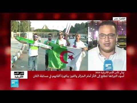 آلاف الجزائريين يؤازلون منتخب بلادهم في المباراة النهائية لكأس أمم أفريقيا أمام السنغال  - نشر قبل 12 ساعة