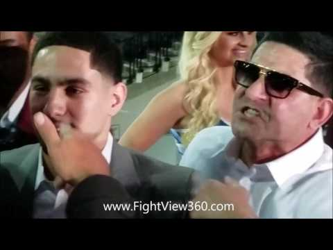 ANGEL GARCIA CALLS THURMAN A N*GGA! NEARLY COME TO BLOWS! THURMAN VS GARCIA PRESS CONFERENCE!