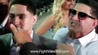 Angel Garcia CALLS Keith Thurman A N!GGA! Nearly Come TO BLOWS - Thurman vs Garcia Press Conference!
