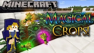 Minecraft Magical Crops! (Grow Diamonds and more!) 1.7.10 - Mod Showcase