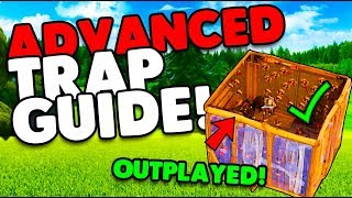 Trap Your Opponents Easily! | Advanced Trap Guide Tips & Tricks | Fortnite Battle Royale