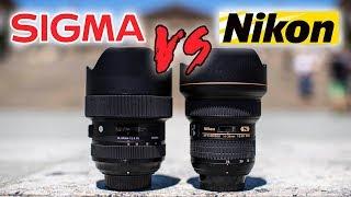 SIGMA 14-24mm f2.8 ART vs NIKON 14-24mm f2.8 Lens Review | CLEAR WINNER?