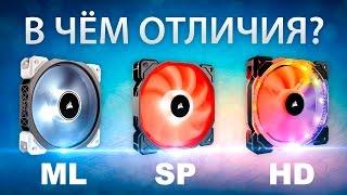 видео Обзор трех 120-мм вентиляторов Noctua
