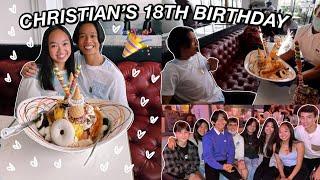 CELEBRATING MY BROTHER'S 18TH BIRTHDAY | Nicole Laeno