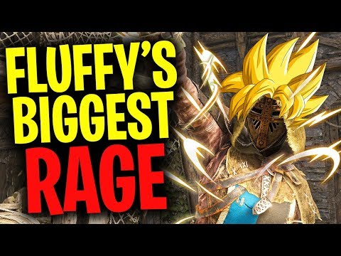 Fluffy's Biggest Rage - For Honor Season 5