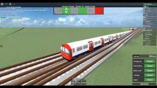 Roblox Mind the Gap Transport-Simulator (WIP) First Day 1973 Stock on Deep Level Part 2