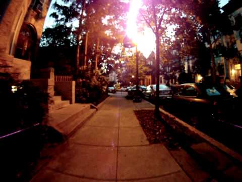 Mintwood at Twilight via Drone Quadcopter