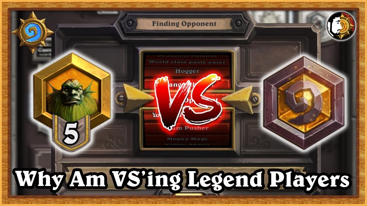 Ranked matchmaking hearthstone