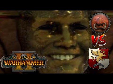 Greenskins vs Empire | GELT SMILES UPON US | Total War: Warhammer 2